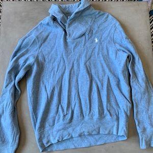 Polo Ralph Lauren - Baby Blue Mockneck Sweater (L)